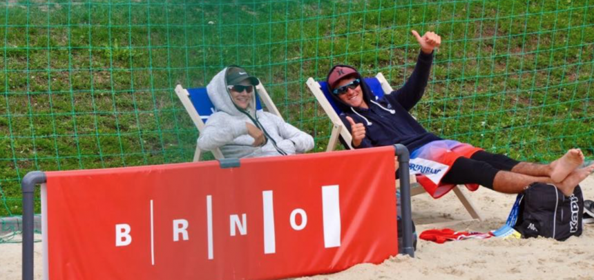 Results of the MEVZA U18 & U20 Beach Volleyball Championships in Brno
