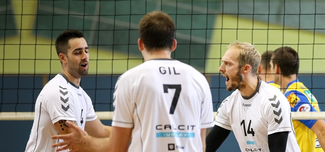 Calcit Volley Kamnik took the lead