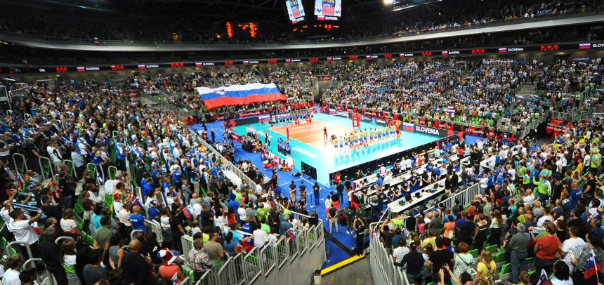 EuroVolley: Slovenia and Slovakia in the winning ways – almost eight thousand spectators in Ljubljana
