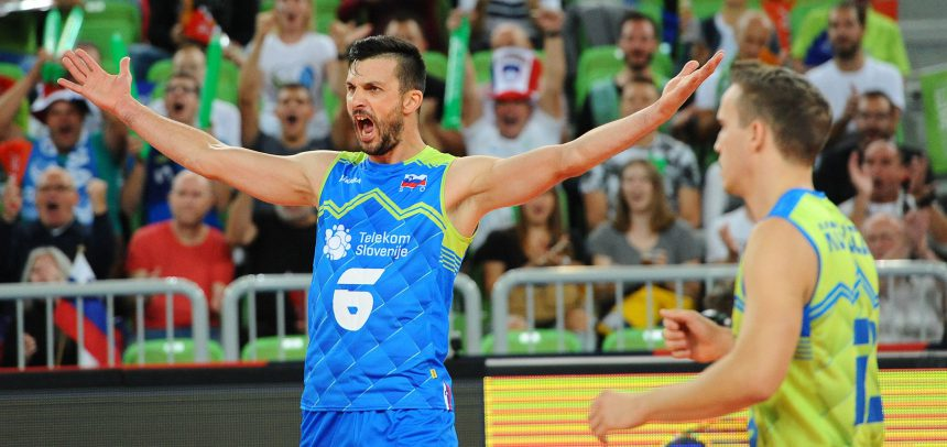 MEVZA members Slovenia, Slovakia, Austria and Czech Republic are starting their EuroVolley campaigns