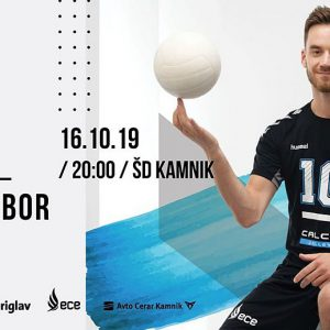 Calcit Volley lock horns with OK Maribor in Slovenian derby