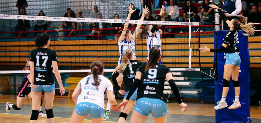 Calcit Volley defeat debutants GEN-I Volley in Slovenian derby?