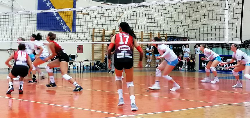 Slovenian teams succeed in third round of women's MEVZA League