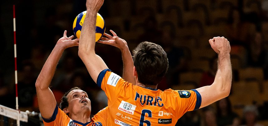 ACH Volley secure third away win in a row to take the lead