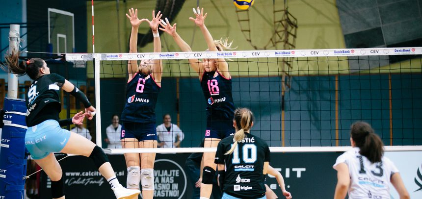 MARIBOR and Calcit Volley on the top of the standing