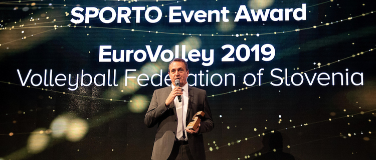 EuroVolley awarded as Best event of 2019 at SPORTO conference