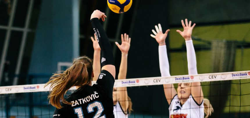 Calcit Volley KAMNIK secure women's MEVZA League Final Four spot
