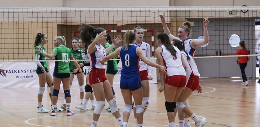 Slovakia Women win U17 Middle European Championship