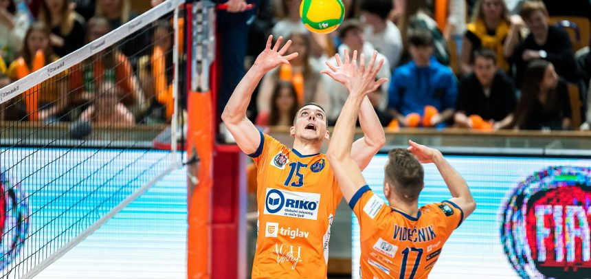 ACH Volley Ljubljana throw away two-set lead against Berlin Recycling Volleys
