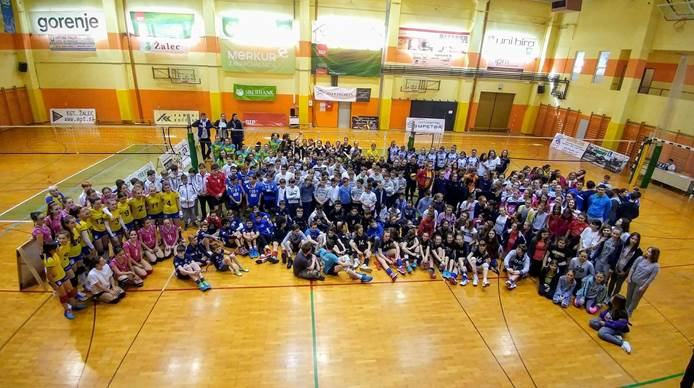 6th International Savinja Valley Cup in cooperation with Slovenian Volleyball Federation and CEV School