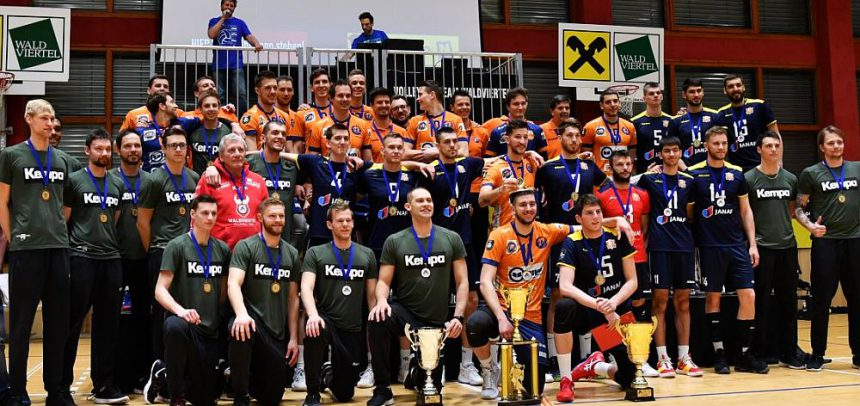 ACH Volley celebrate record 10th MEVZA League triumph, Zagreb take Silver and Waldviertel Bronze