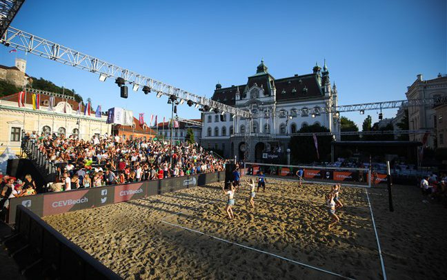Ljubljana poised to host first international Beach Volleyball event since March