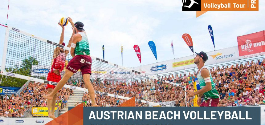 "Austrian Beach Volleyball Champions Cup 2020 – Home stars ""back to the roots""!"