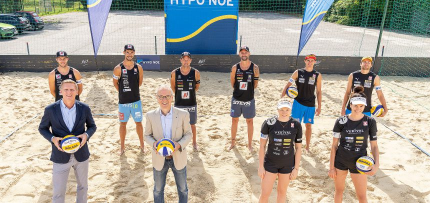 Austrian Beach Volleyball stars ready for HYPO NOE Champions Cup