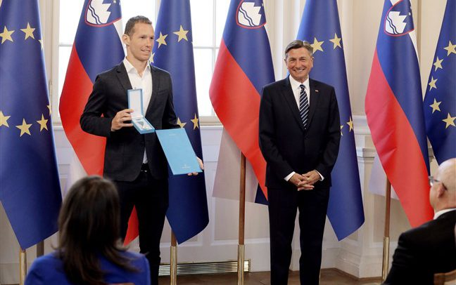 EuroVolley silver medal winners awarded Order of Merit by Slovenia's President