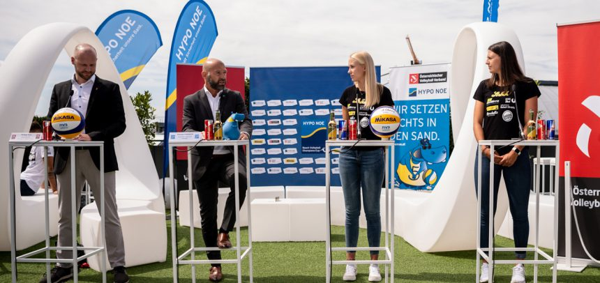 HYPO NOE Beach Volleyball Champions Cup finals coming up on Saturday in Vienna!