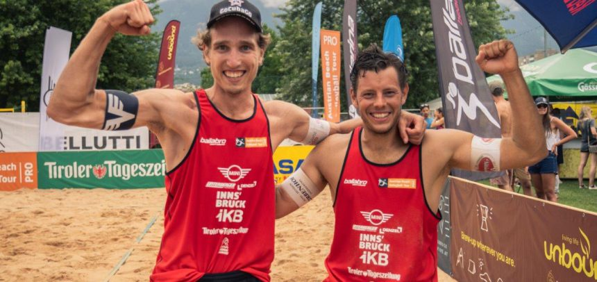 Austrian Beach Volleyball Tour stop with international flair successfully held in Innsbruck