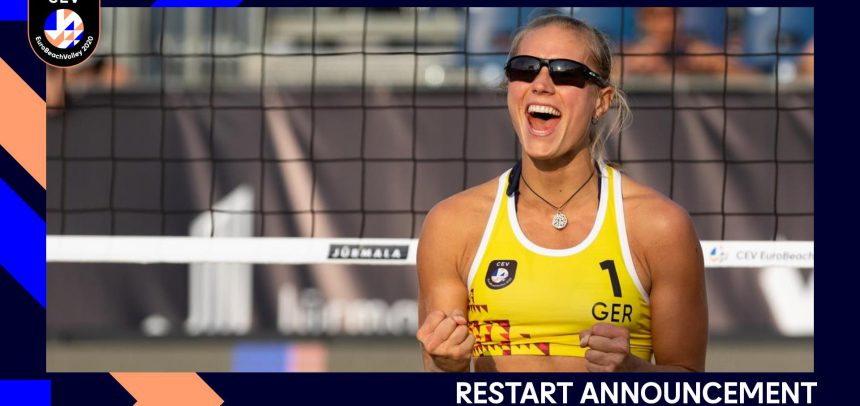 CEV EuroBeachVolley 2020 moved to an alternative location after a storm makes it impossible to play