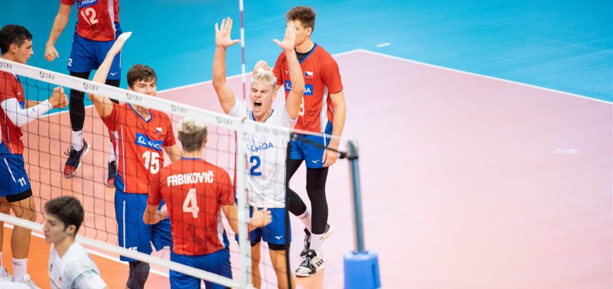 Czech Republic to battle for gold at #EuroVolleyU18M