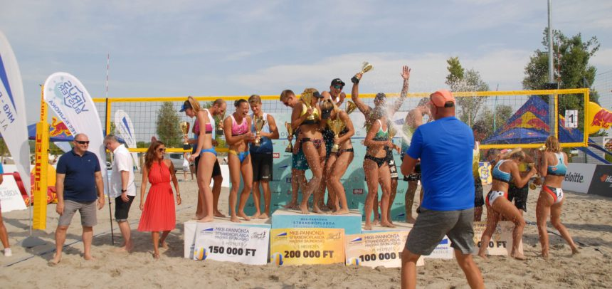 Beach Volleyball National Champions crowned in Czech Republic and Hungary