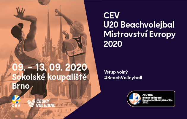 Europe's Beach Volleyball rising stars ready to shine in Brno