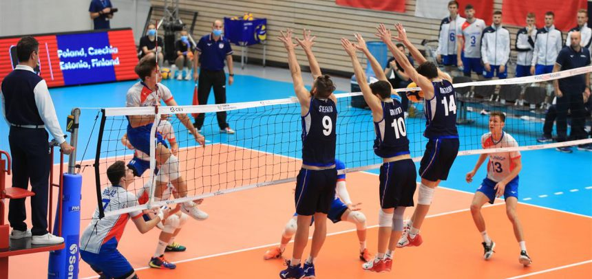 Czech could not stop Italy as the only remaining undefeated team at #EuroVolleyU20M
