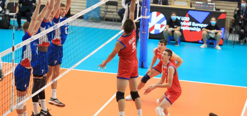 Already the second five set match for the Czech Republic at #EuroVolleyU20M