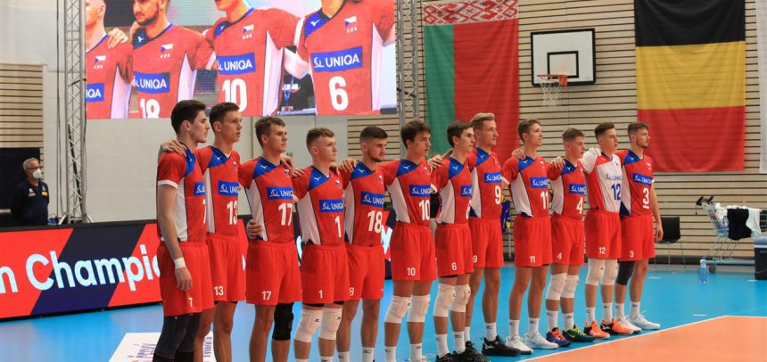 Czech Republic only two points short from a comeback win at #EuroVolleyU20M