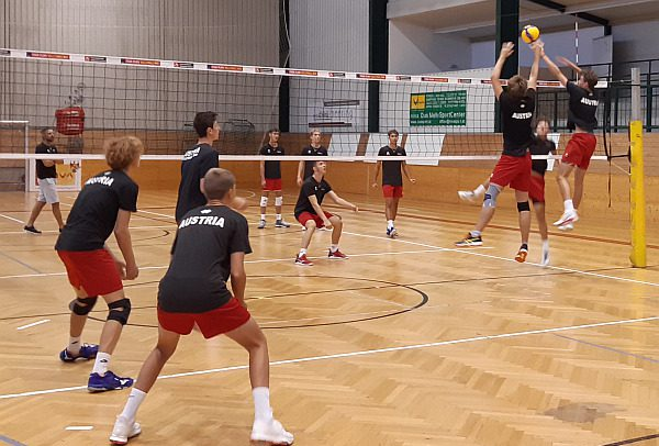 Austrian youth national team gets together for the first time since lockdown