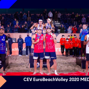 The Queens and Kings of CEV EuroBeachVolley 2020