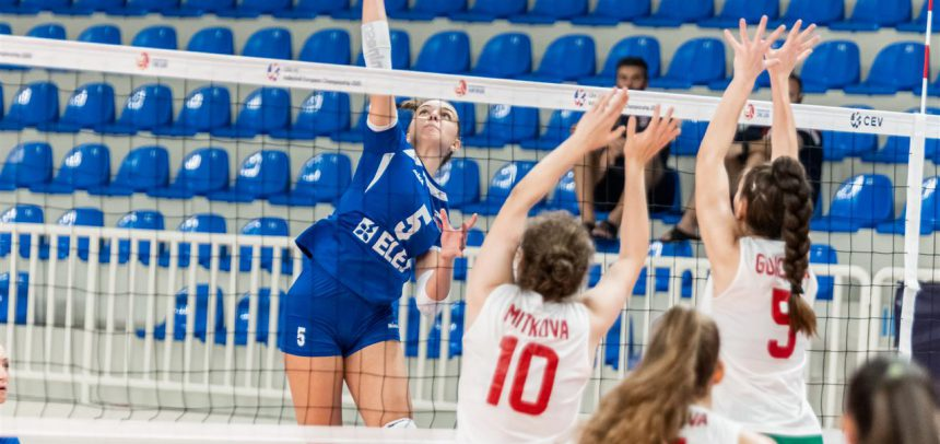 Slovakia & Slovenia already qualified for the top 8 at #EuroVolleyU17W