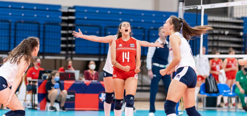Successful day for both Slovakia and Slovenia at #EuroVolleyU17W