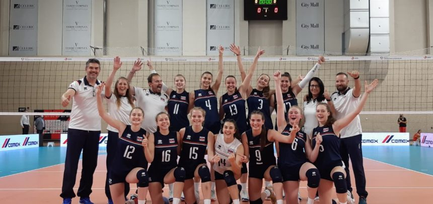 Mixed success for Slovakia and Slovenia in the opening round of #EuroVolleyU17W
