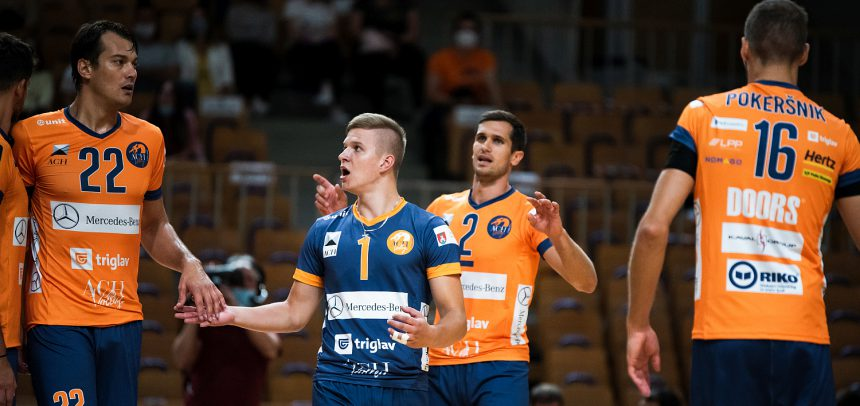 MEVZA League: ACH Volley Ljubljana celebrate convincing win against Union Waldviertel