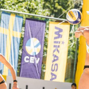 Beach Volleyball Baden accounts for record advertising value in coronavirus times