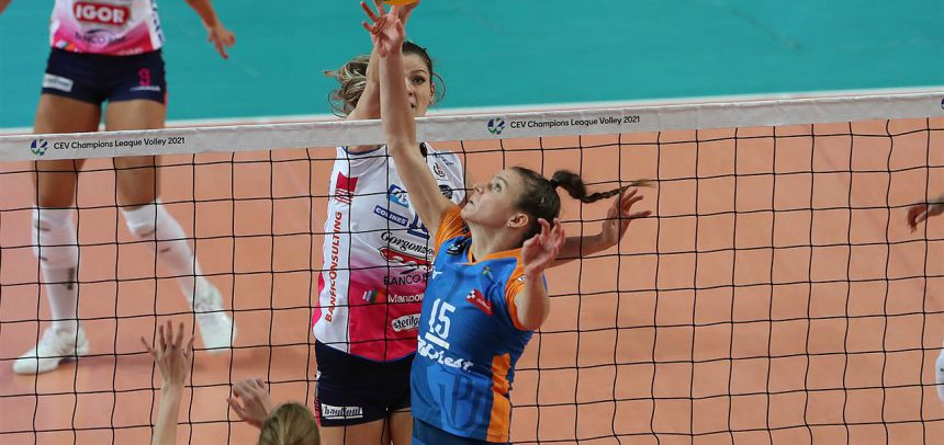 Olomouc puts up a good fight against the Italian powerhouse in CEV Champions League