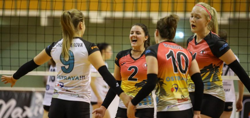 TJ OSTRAVA claim first of two CEV Challenge Cup matches against the Latvians