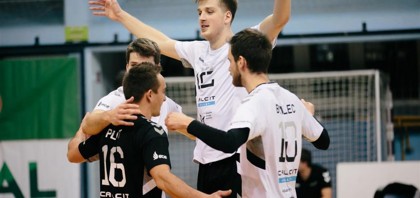 Calcit only two sets away from reaching CEV Challenge Cup 8th Finals