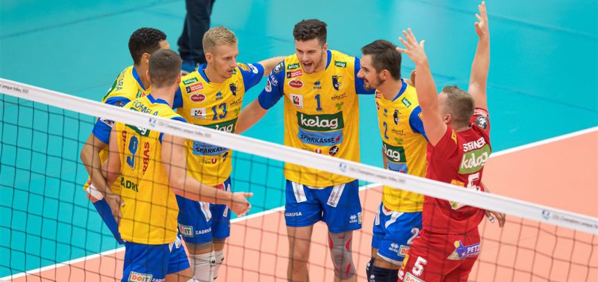 A MEVZA matchup in the forefront of this week's CEV European Cups