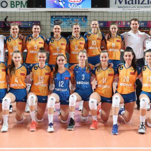 Olomouc gains important experience in Pool E of CEV Champions League