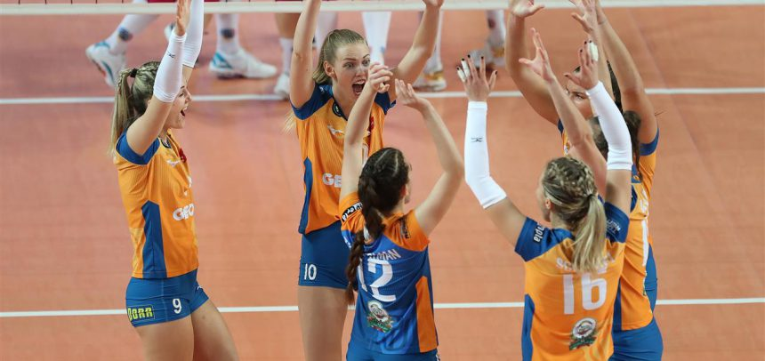 Olomouc looking to stop Novara's streak in Pool E of CEV Champions League