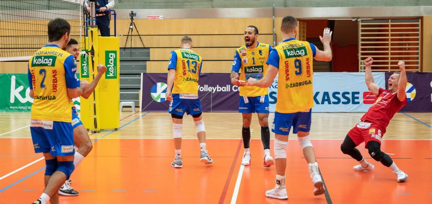Zadruga AICH/DOB claim hard-fought win in first round of CEV Cup 16th Finals
