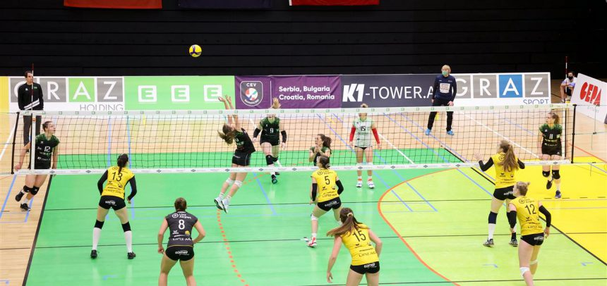 LINZ-STEG and GRAZ poised for second round of Austrian derby in CEV Challenge Cup