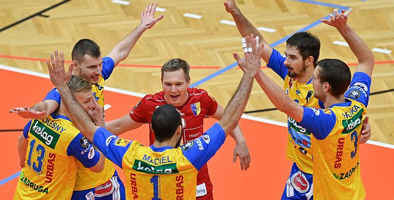 SK AICH/DOB celebrate third MEVZA League win in a row