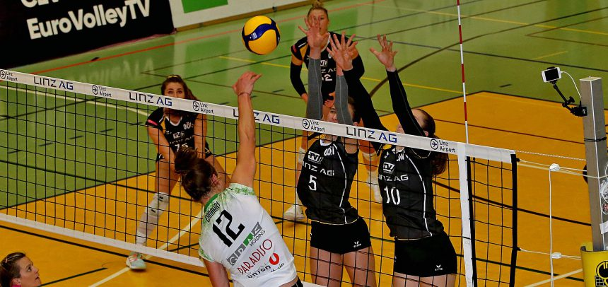 UVC Holding GRAZ rout LINZ-STEG to make CEV Challenge Cup 8th Finals