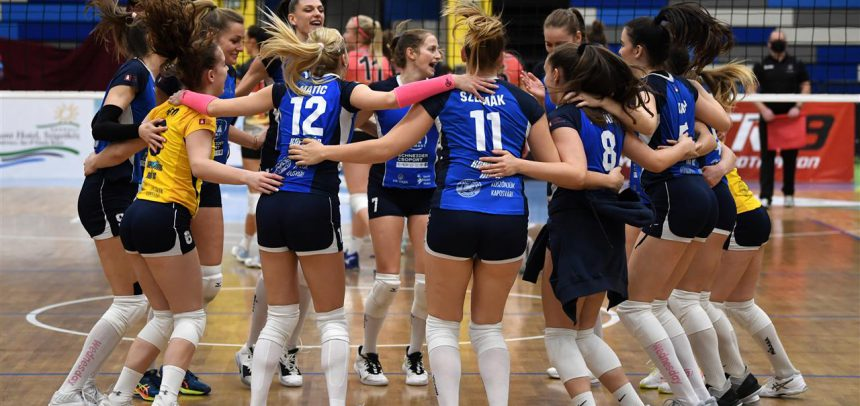 Neighbours KAPOSVAR and NITRA to battle for CEV ChallengeCup semi-final spot