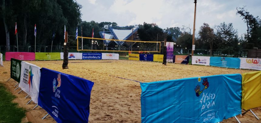 MEVZA zonal event in Israel to send message of light and hope to Beach Volleyball community