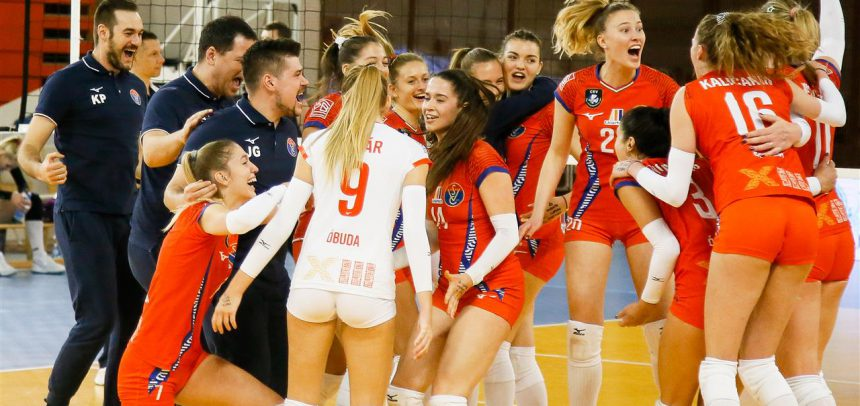 Vasas Obuda Budapest with a comeback win to play for the CEV Cup semi-final