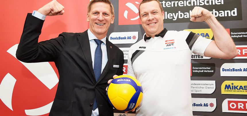 Austria coach adamant his team can spring a surprise at #EuroVolleyM qualifier