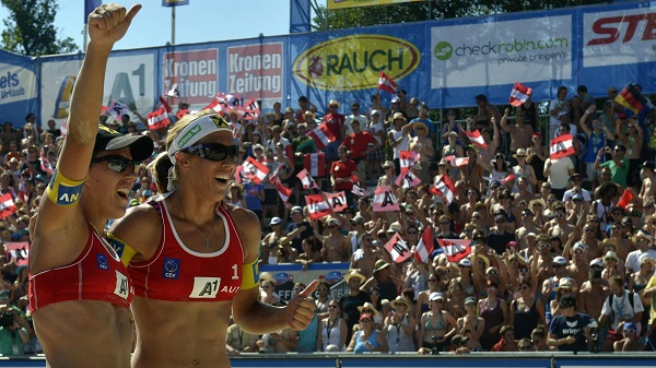 The Schwaigers among the top 5 Women's Beach Volleyball Teams from Europe of the last two decades